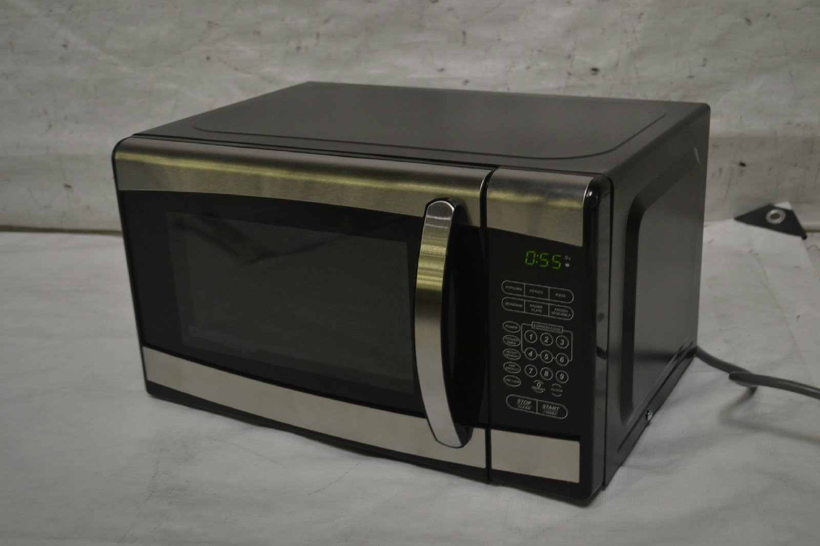 Countertop Microwave Black Stainless : ... Designer 0.7 cu.ft. Countertop Microwave, Black/Stainless Steel eBay