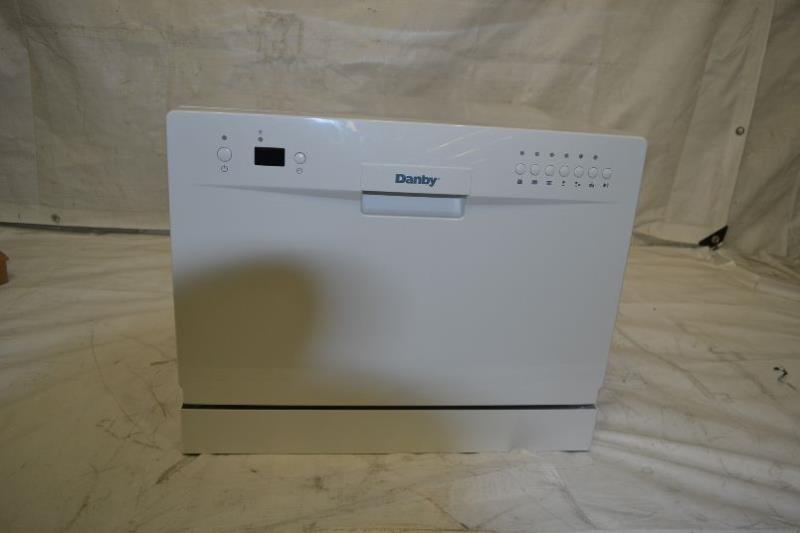 Details about Danby DDW611WLED Countertop Dishwasher - White