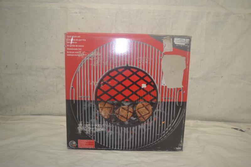 weber 7420 gourmet bbq system sear grate set ebay. Black Bedroom Furniture Sets. Home Design Ideas