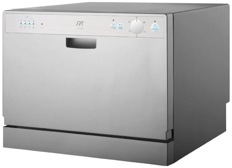 Countertop Dishwasher Connect To Tap : ... about SPT SD-2202S Countertop Dishwasher with Delay Start, Silver
