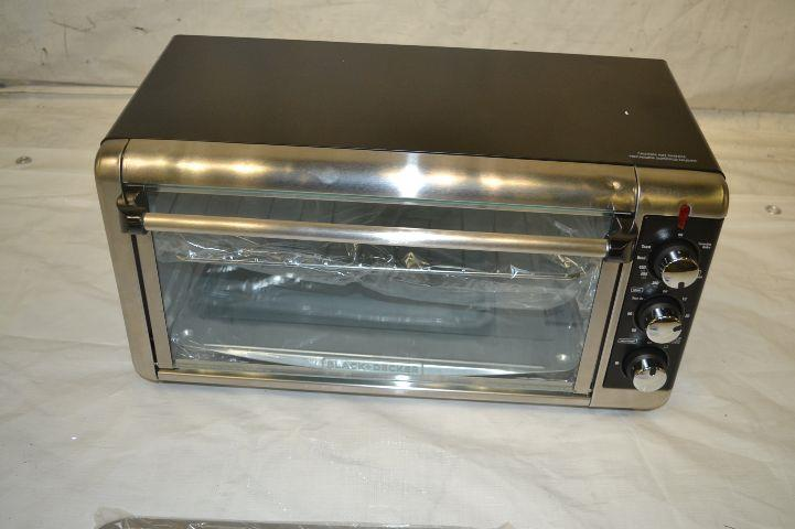 Black And Decker Countertop Oven Not Working : Black & Decker TO3250XSB 8-Slice Extra Wide Toaster Oven, Black/Silver ...
