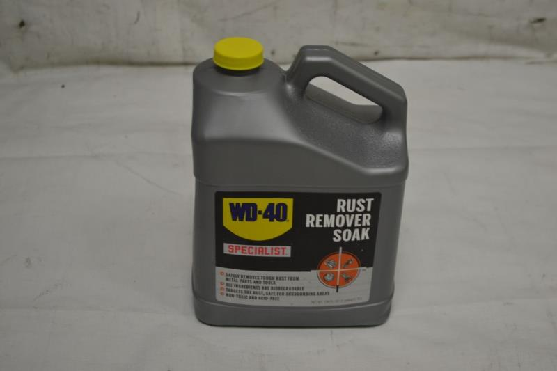 wd 40 300045 specialist rust remover soak 1 gal ebay. Black Bedroom Furniture Sets. Home Design Ideas