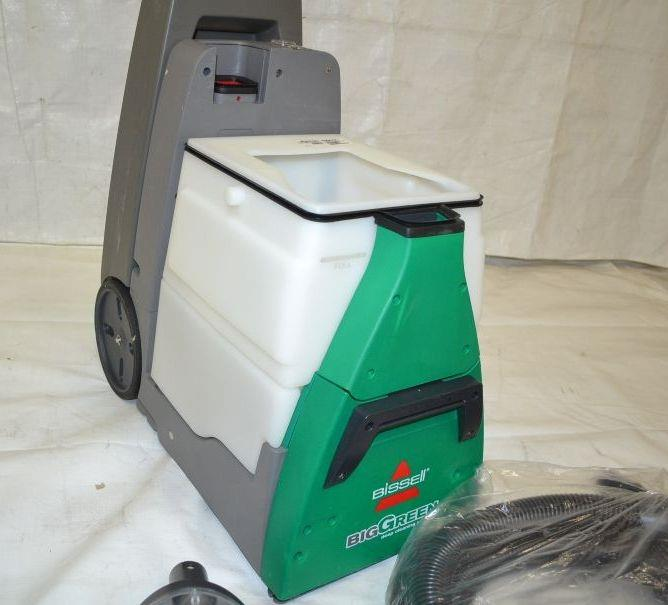 bissell big green cleaning machine rental