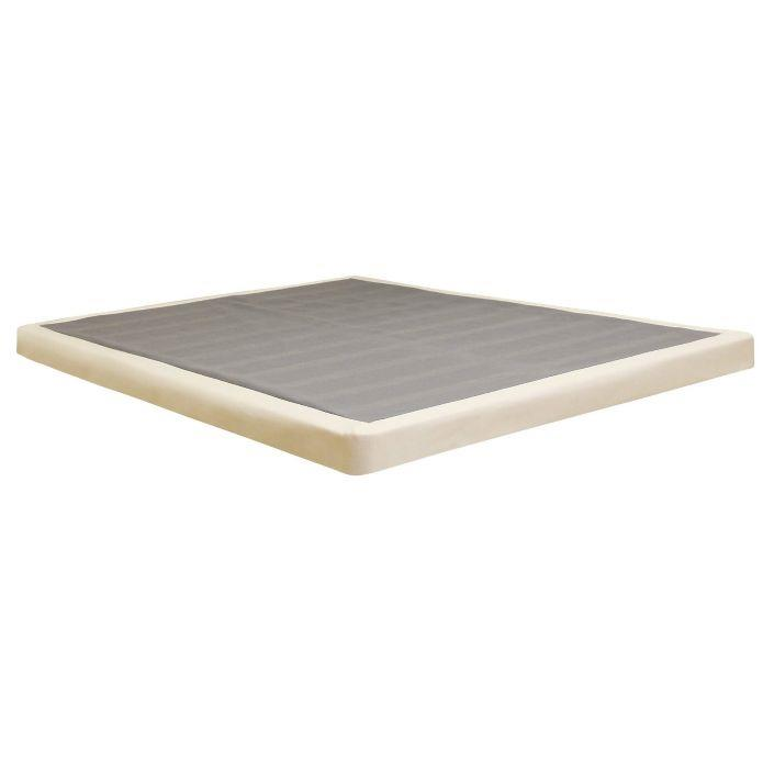 Classic brands low profile foundation box spring 4 inch California king box spring