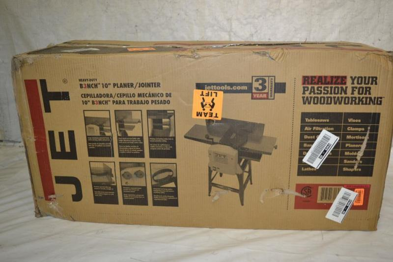 Jet Jjp 10btos 10 Inch Bench Top Jointer Planer Ebay