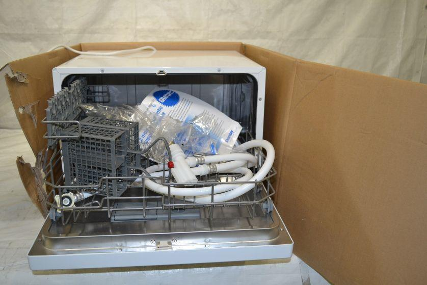 Danby Countertop Electronic Dishwasher : Details about Danby DDW611WLED Countertop Dishwasher - White