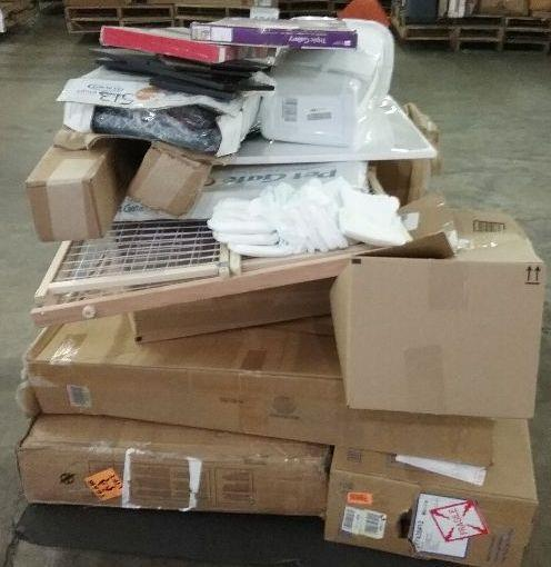 WHOLESALE PALLET: Furniture, Diapers, Baby Gate, Light And