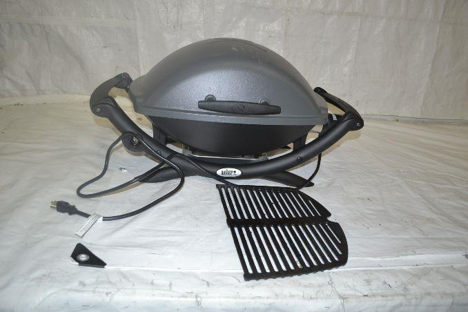 weber 55020001 q 2400 electric grill ebay. Black Bedroom Furniture Sets. Home Design Ideas