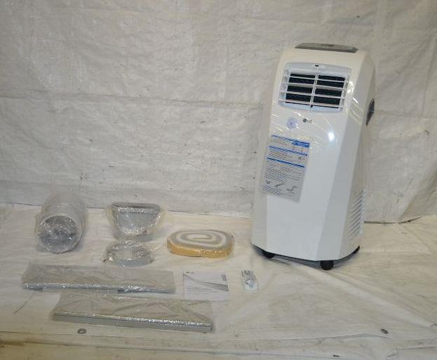 lg 10000 btu portable air conditioner instruction manual