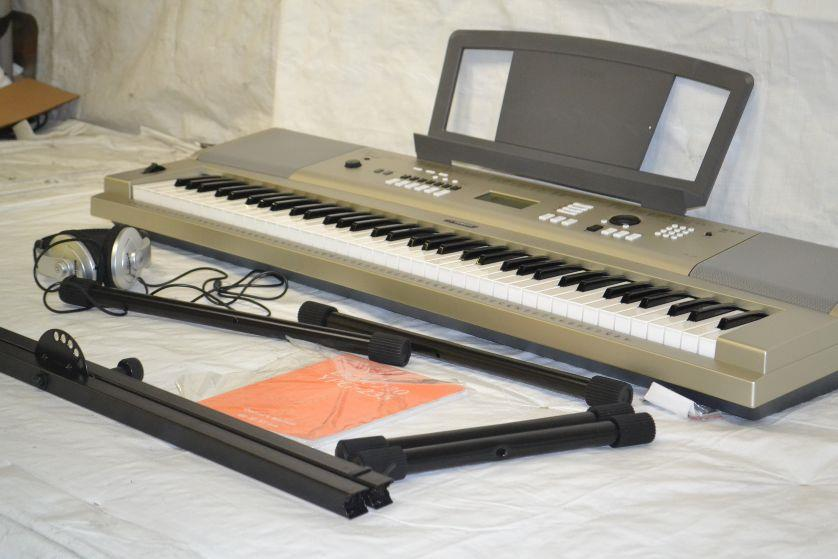 Yamaha ypg 235 76 key portable grand piano premium pack ebay for Yamaha ypg 235 used