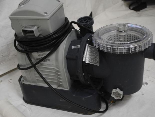 Intex Sand Filter Pump With Gfci For Pools 3000 Gallon Ebay