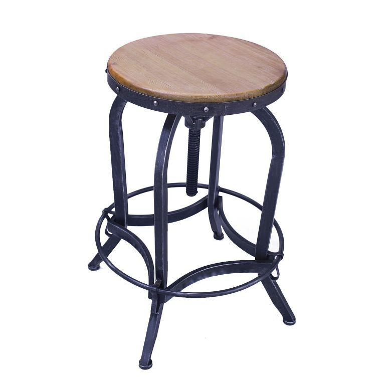 Joveco Metal Bar Stool Barstool Adjustable Height with  : 20253457 from www.ebay.com size 764 x 764 jpeg 40kB