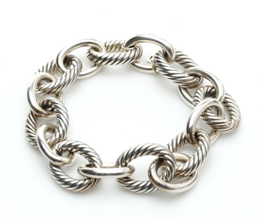 david yurman sterling ultra large link bracelet ebay
