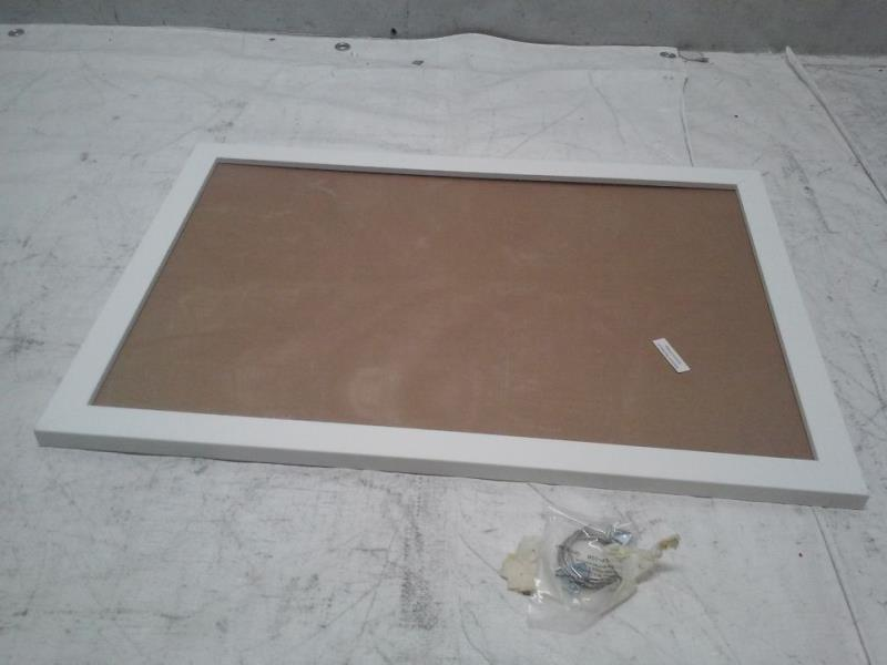 ... 16x24 inch Satin White Frame Picture Frame, WOMFRBW26074-16x24 : eBay