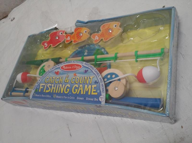 Melissa doug catch count fishing game for Catch and count fishing game