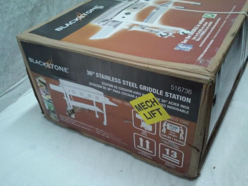 Blackstone 36 Inch Stainless Steel Outdoor Cooking Gas