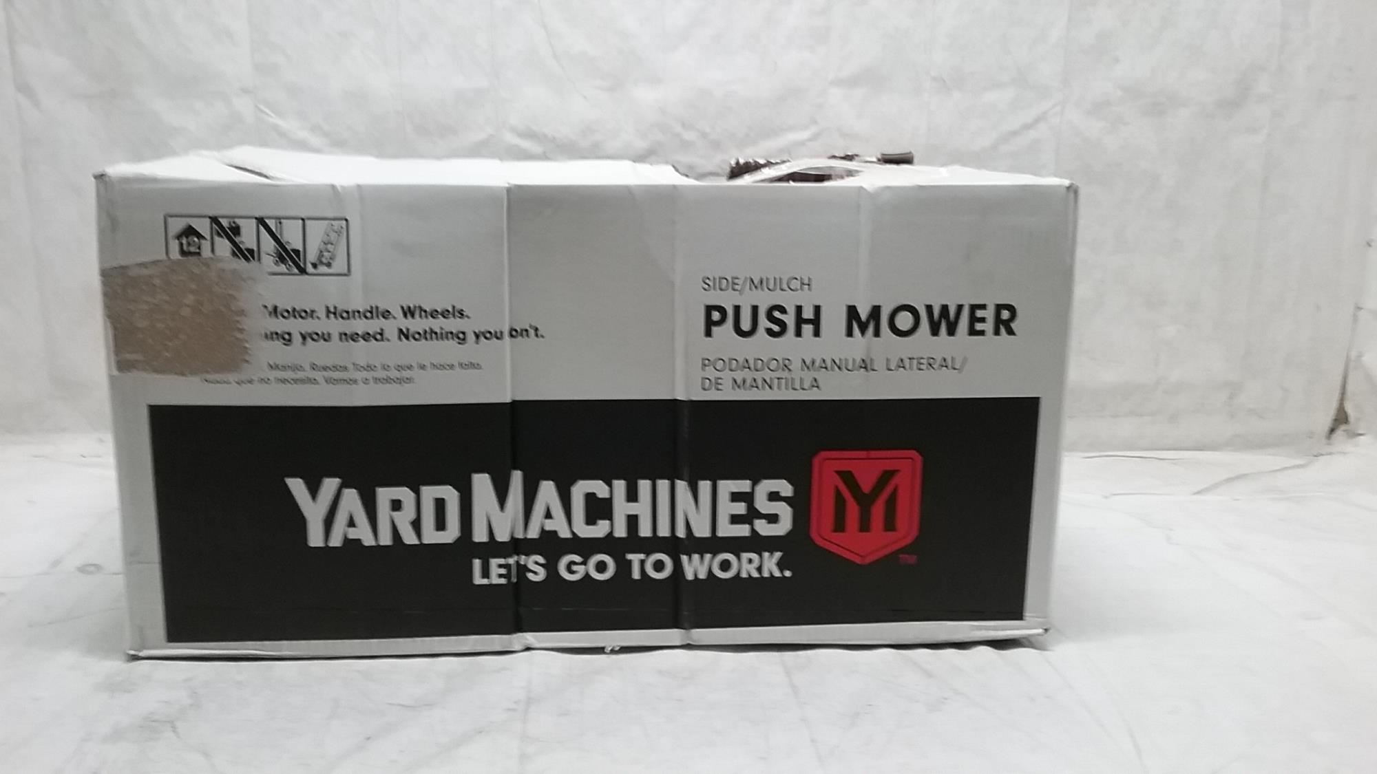 yard machine 21 inch push mower